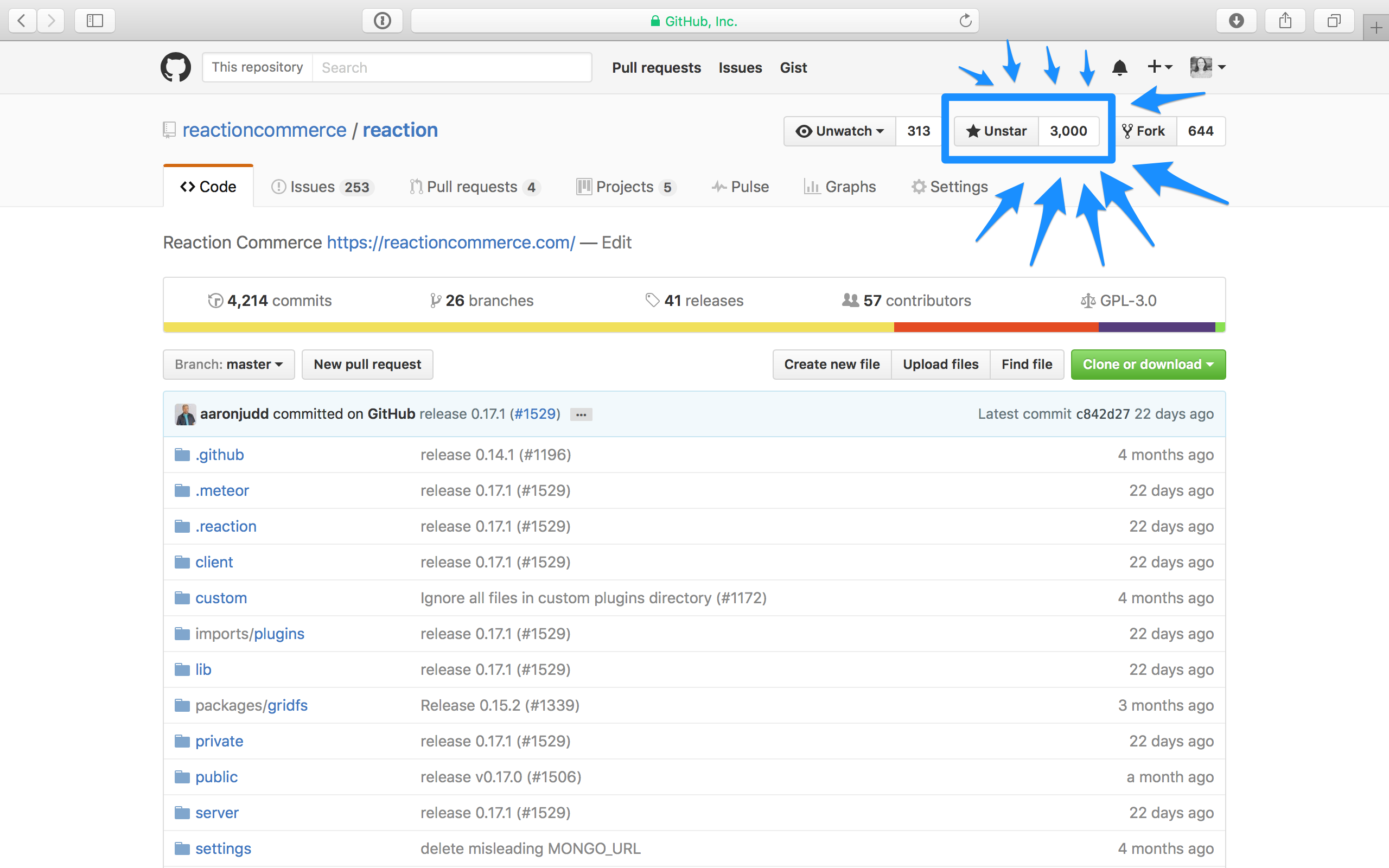 Reaction Commerce GitHub